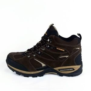 Skechers Bomags Calder Waterproof Lace-Up Boots 13